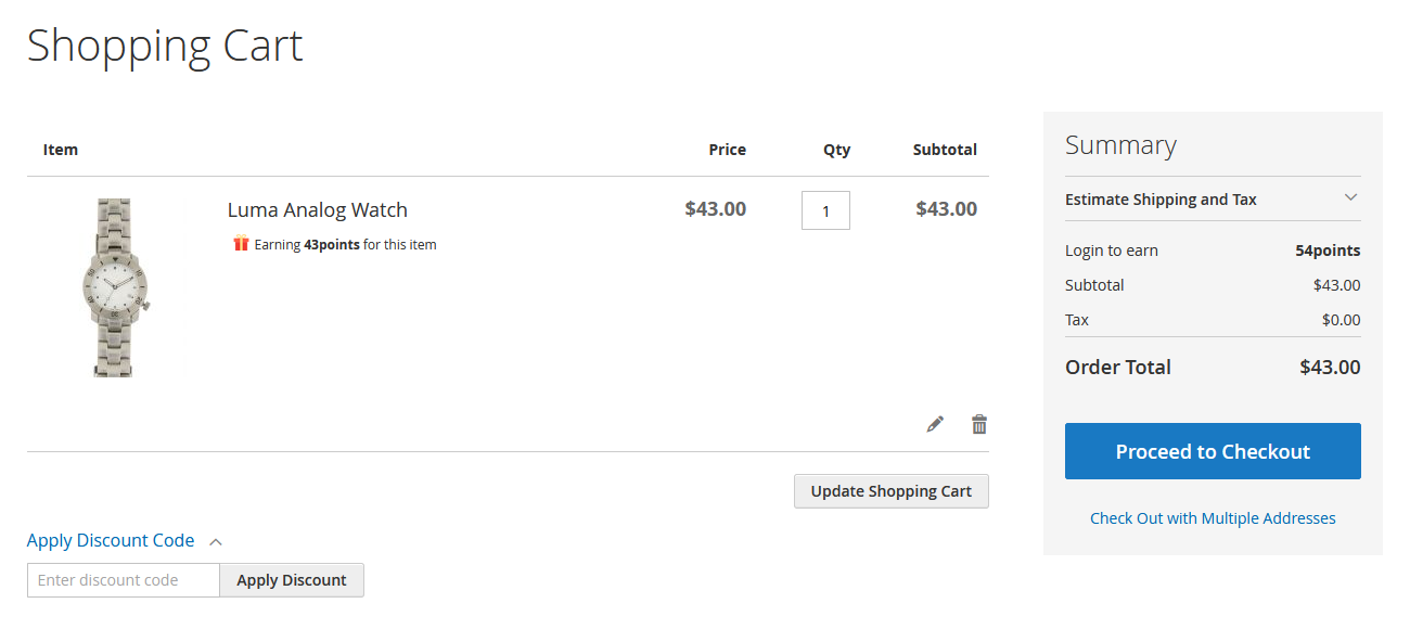 Add Products Directly to Your Cart